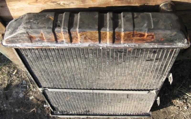 Как запаять соты медного радиатора